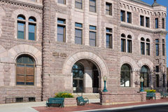 Tribunal Sioux Falls de los E.E.U.U. Fotos de archivo
