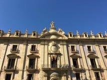 Tribunal Superior de Justicia Sala Social. In Valencia Spain Stock Photography
