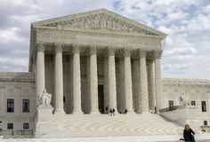 Tribunal Supremo de Estados Unidos Imagenes de archivo