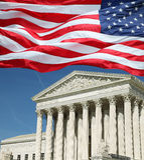 Tribunal Supremo de los E Fotos de archivo