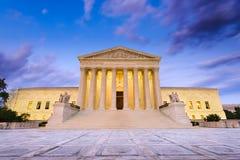 Tribunal Supremo de los Estados Unidos Fotografía de archivo libre de regalías