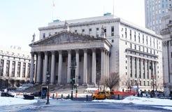 Tribunal Supremo de New York City Fotos de archivo libres de regalías