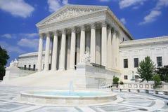 Tribunal Supremo en Washington, C.C. de los E.E.U.U. foto de archivo