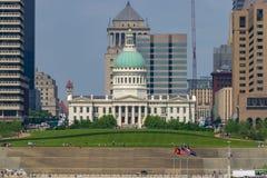 Tribunal velho de St Louis imagem de stock