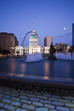 Tribunal velho em St Louis Foto de Stock