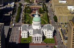 Tribunal velho, St Louis, MO Imagem de Stock Royalty Free