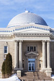 Tribunal viejo en Hillsboro, Montgomery County Imagen de archivo libre de regalías
