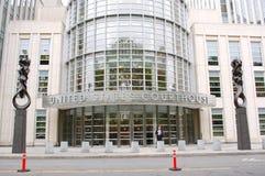 Tribunale degli Stati Uniti, New York City Fotografia Stock Libera da Diritti