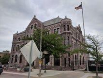 Tribunale degli Stati Uniti in Sioux Falls, deviazione standard fotografia stock