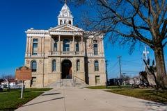 Tribunale della contea di Fayette immagine stock
