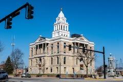 Tribunale della contea di Fayette in Washington Court House, OH fotografia stock libera da diritti
