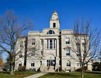 Tribunale della contea di Keokuk fotografia stock libera da diritti