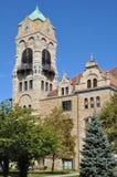 Tribunale della contea di Lackawanna in Scranton, Pensilvania fotografia stock libera da diritti