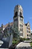 Tribunale della contea di Lackawanna in Scranton, Pensilvania fotografia stock