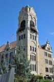 Tribunale della contea di Lackawanna, Scranton, Pensilvania immagine stock libera da diritti
