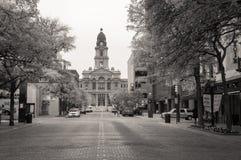 Tribunale della contea di Tarrant fotografie stock libere da diritti