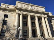 Tribunale della contea di Yavapai in Prescott, Arizona immagine stock libera da diritti