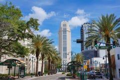 Tribunale di contea di Orange, Orlando, Florida fotografia stock