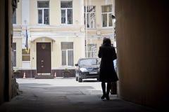 Tribunale di prima istanza di Pechersky di Kyiv Immagini Stock