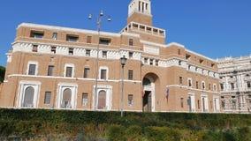 Tribunale di Sorveglianza. (supervisory review co. Urt) Rome, Italy. Video. UltraHD (4K stock video footage
