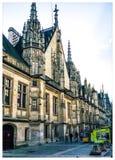 Tribunale gotico fotografia stock libera da diritti