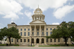Tribunale piacevole della contea di Bell del monumento storico immagini stock