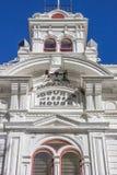 Tribunale storico alla via principale Bridgeport fotografia stock libera da diritti