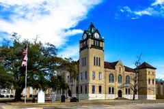 Tribunale storico della contea di Autauga immagini stock libere da diritti
