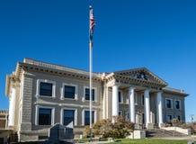 Tribunale storico della contea di Elko, Nevada fotografia stock