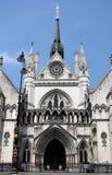 Tribunales de Justicia reales Foto de archivo libre de regalías