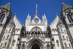 Tribunales de Justicia reales en Londres Imagen de archivo