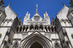 Tribunales de Justicia reales en Londres Foto de archivo