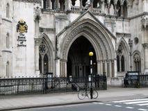 Tribunales de Justicia reales, Londres Imagen de archivo