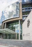 Tribunales Penales de la justicia Foto de archivo