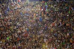 Tribune alla parata dello stadio di carnevale di Sambodromo Fotografia Stock