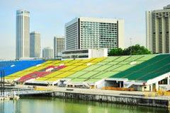 Tribune de Marina Bay Floating Platform Photo libre de droits