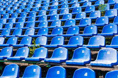 Tribune of for the fans Royalty Free Stock Image