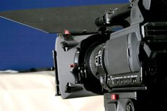 Tribune hd-camcorder Stock Foto