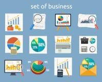 Tribune met grafieken en parameters Royalty-vrije Stock Fotografie