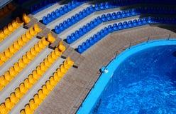 Tribune pool Royalty Free Stock Images