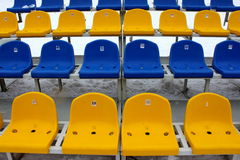 Tribune seats Royalty Free Stock Photo