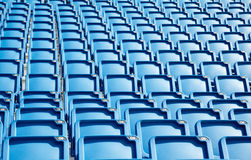 Tribune seats Royalty Free Stock Image