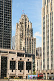Tribune Tower Royalty Free Stock Photo