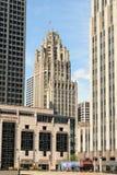 Tribune Tower Royalty Free Stock Photo