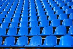 Tribunes bij het stadion Royalty-vrije Stock Fotografie