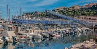 Tribunes du Monaco Grand prix de la formule 1 Photo stock