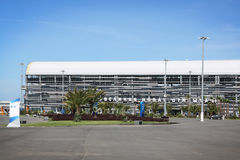 Tribunes of f1 complex in Sochi Stock Images