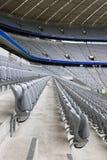 Tribunes vides de stade Photos libres de droits