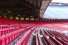 Tribunes vides de stade Photos stock