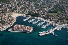 tribunj Хорватии стоковая фотография rf